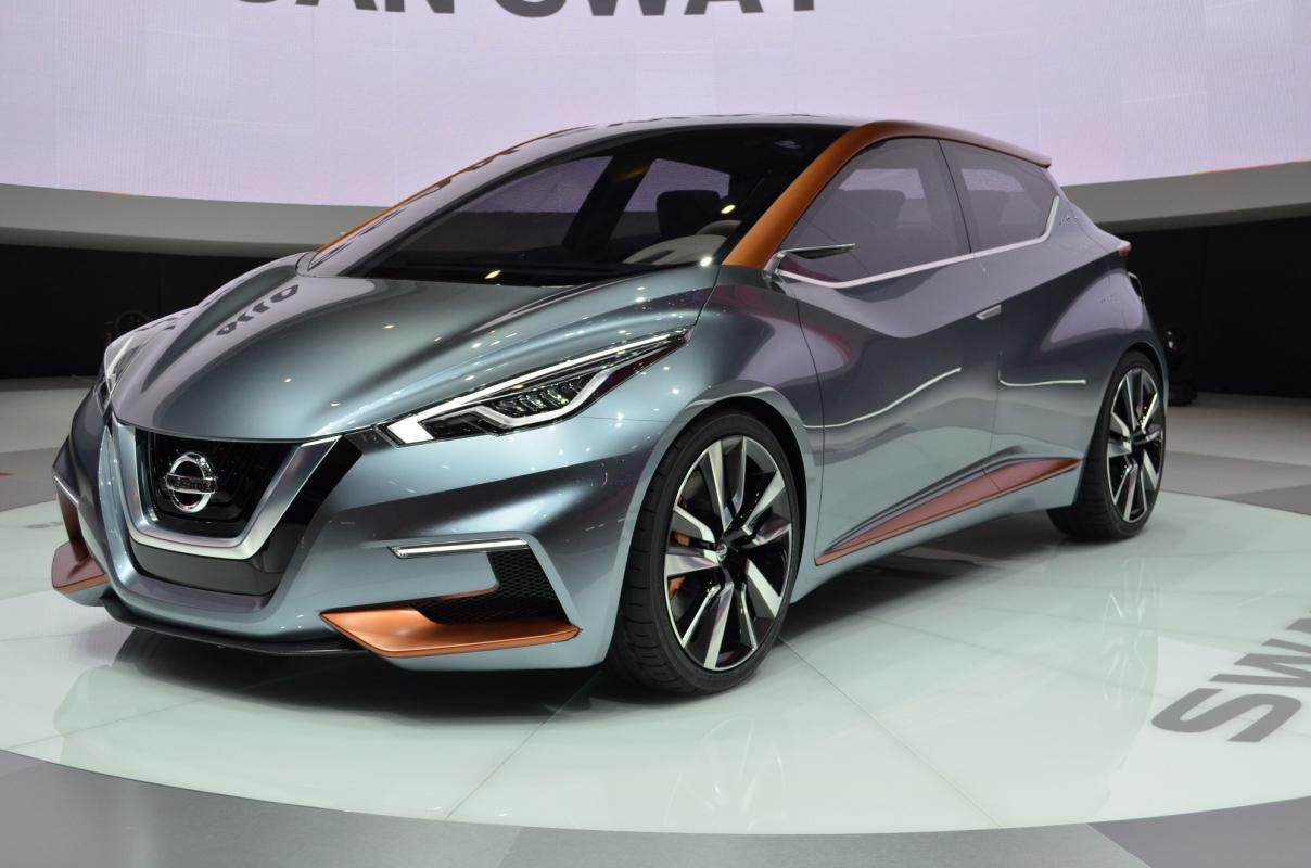 Nissan  U0026quot Sway U0026quot  Concept Car  Next Generation K14 2016 Micra