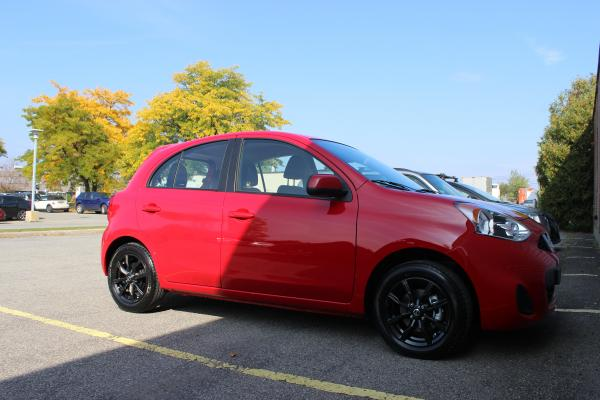 red hornet 2015 nissan micra sv garage entry micra. Black Bedroom Furniture Sets. Home Design Ideas